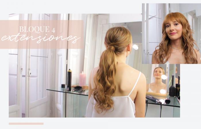 Curso | Extensiones en peinados de novia
