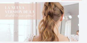 La nueva versión de la Bubble ponytail