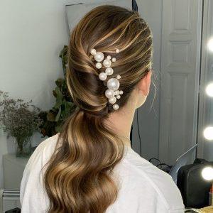 Accesorios para el pelo perlas